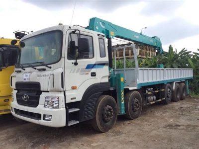 Xe tải gắn cẩu HKTC – chất lượng vượt chội