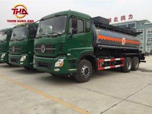 Một số thông tin cơ bản Xe chở axit, hóa chất Dongfeng 12 tấn- 3 chân 6x4