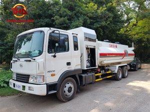 Xe chở xăng dầu 13 khối Hyundai HD240
