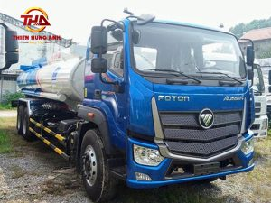 Xe téc chở xăng dầu auman C240 17 khối